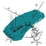 Agencement des espaces salle de réunion